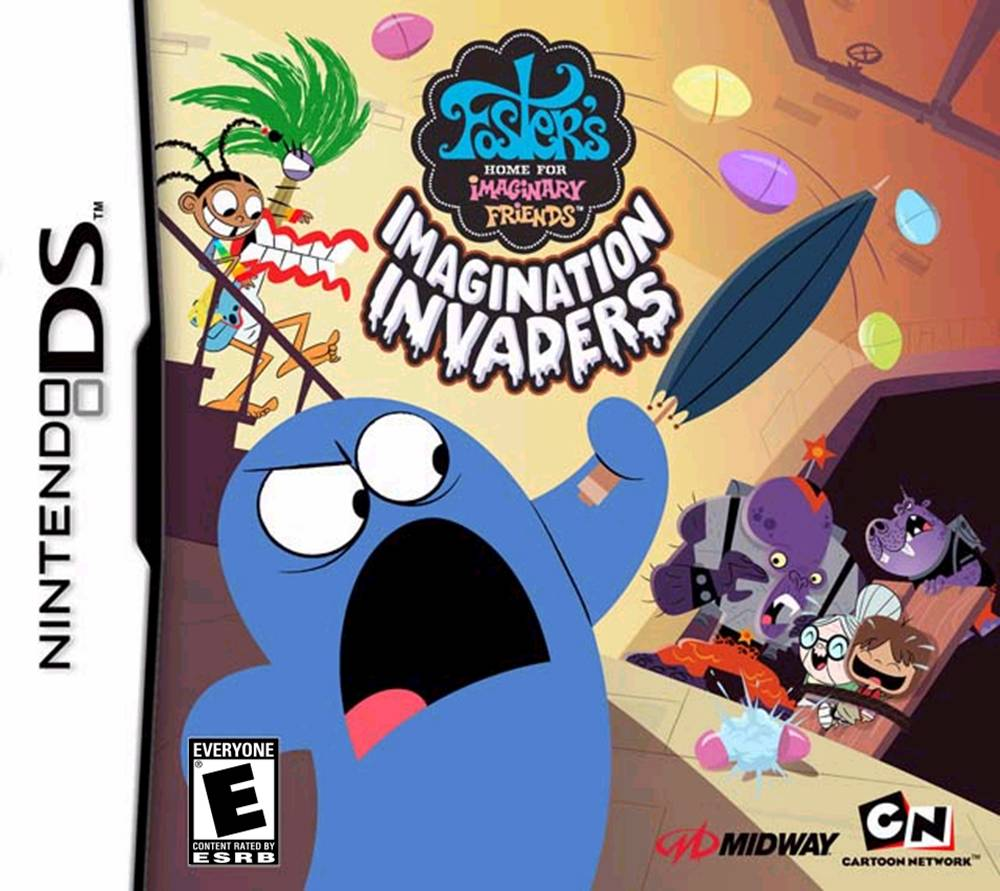 Fosters Home For Imaginary foster's home for imaginary friends: imagination invaders