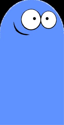Bloo transparent
