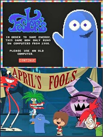 Big Fat Awesome House Party Imagination Companions A Foster S Home For Imaginary Friends Wiki Fandom