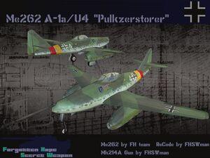 Me262 A-1a-U4 Pulk