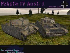 Pzkpfw IV Ausf J