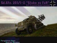 """1-II """"Stuka zu Fuß"""