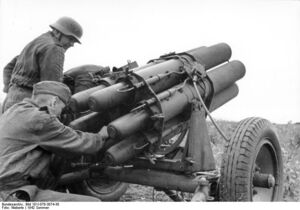 15 cm Nebelwerfer 41 (germany)