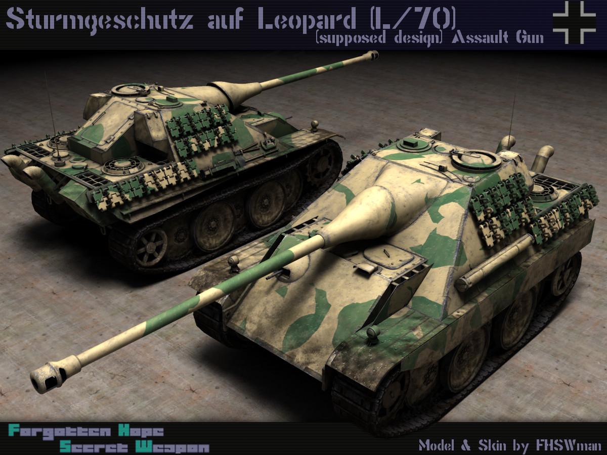 sturmgeschütz auf leopard l 70 forgotten hope secret weapon wiki