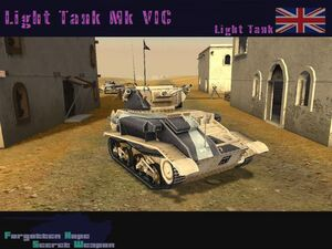 Light Tank Mk VIC