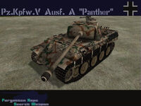 Panther Ausf. A