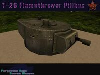 T-26 Flamethrower Pillbox