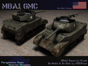 M8A1 GMC
