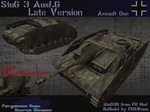 Stug III Ausf G Late