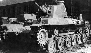 Type 2 Ho-I gun tank