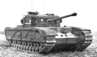 Black Prince tank