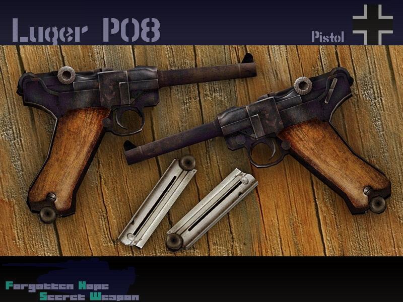 luger p08 forgotten hope secret weapon wiki fandom