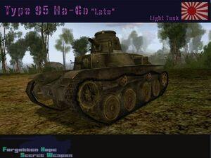 Type 95 Ha-Go Late