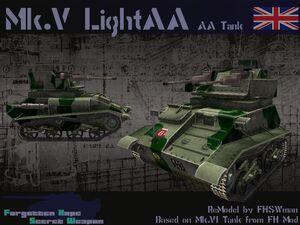 Light Tank AA Mk V