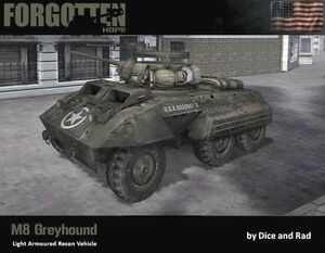 M8 Greyhound (by DICE and Rad)