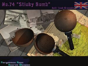 No.74 Sticky Bomb