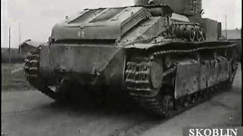 Russian T-28 Medium Tank