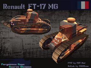 Renault FT-17 Mg