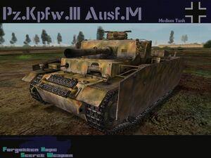 Pzkpfw III Ausf M