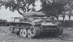 PzKpfw II Ausf L of the 116th Panzer Normandy 1944