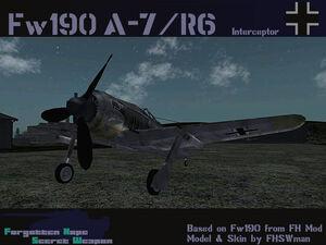 FW190 A-7 R6