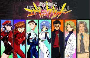 6 personajes y shigeru