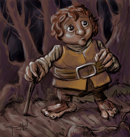 Bilbo hobbit