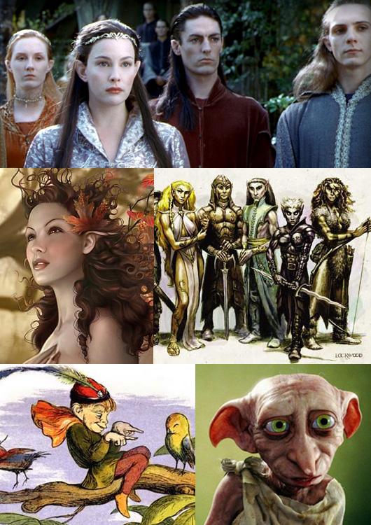 Elf-collage