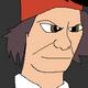 Tommy Cooper Mugshot