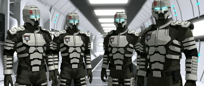 Riot Bot Troopers 1