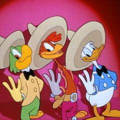 José, Panchito, Donald: The Three Caballeros