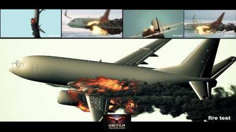 The plane crash test