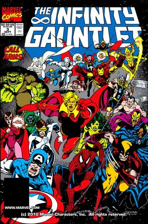 The Infinity Gauntlet Issue 3 Cover