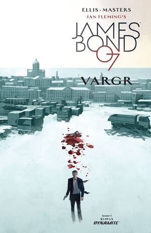 James Bond (2015) Issue 1 Cover