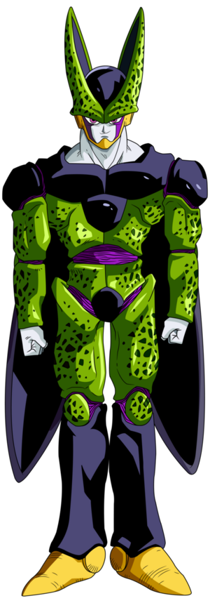 Cell Perfect Form Dragon Ball Z