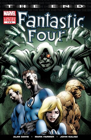 Fantastic Four The End Issue 1 Cover