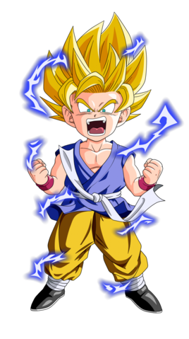 Goku Super Saiyan 2 Dragon Ball GT