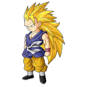 Goku Super Saiyan 3 Dragon Ball GT