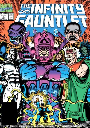 The Infinity Gauntlet Issue 5 Cover