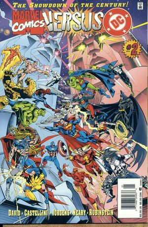 DC Vs Marvel Comics Issue 2 Cover