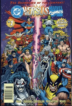 DC Vs Marvel Comics Issue 1 Cover