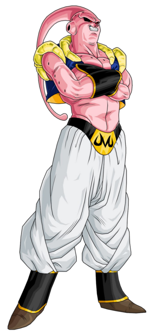 Majin Buu Gotenks Dragon Ball Z