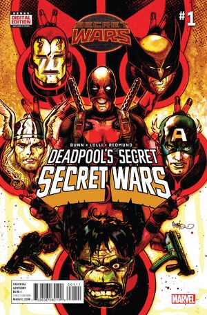 Deadpools Secret Secret Wars Issue 1 Cover