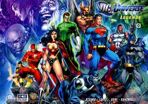 DC Universe Online Legends Cover Issue 0