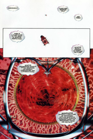 The Primal Monitor DC Comics