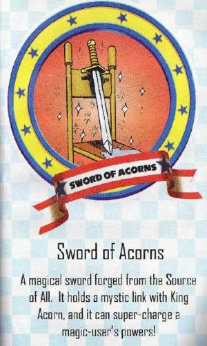 Sword of Acorns Archie Sonic Comics