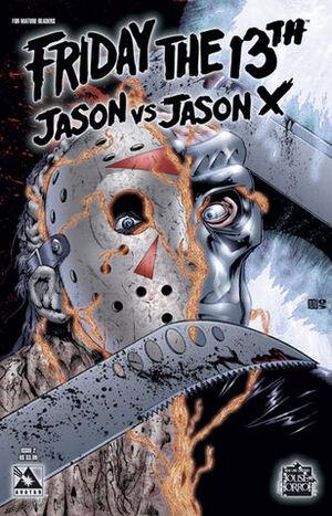 Friday the 13th Jason Vs Jason X Cover 2 Issue