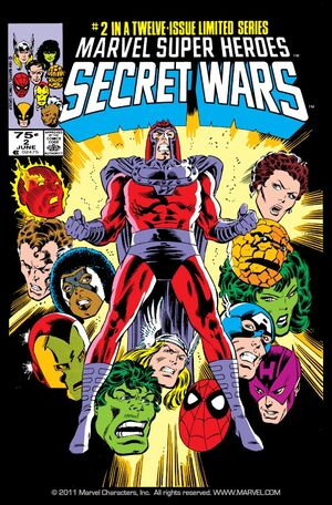 Secret Wars Issue Cover 2