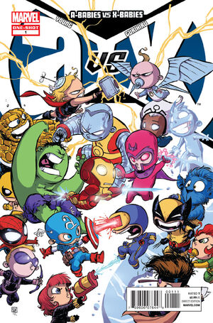 A-Babies Vs X-Babies Issue 1 Cover