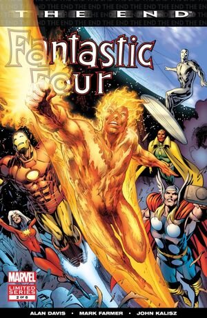 Fantastic Four The End Issue 2 Cover
